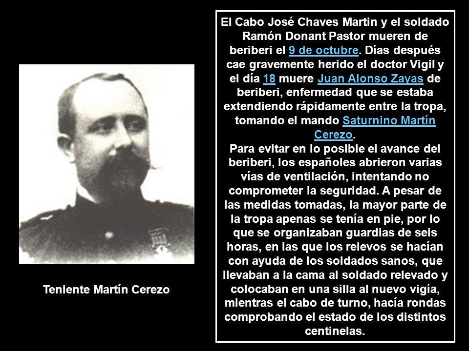 Teniente Martín Cerezo
