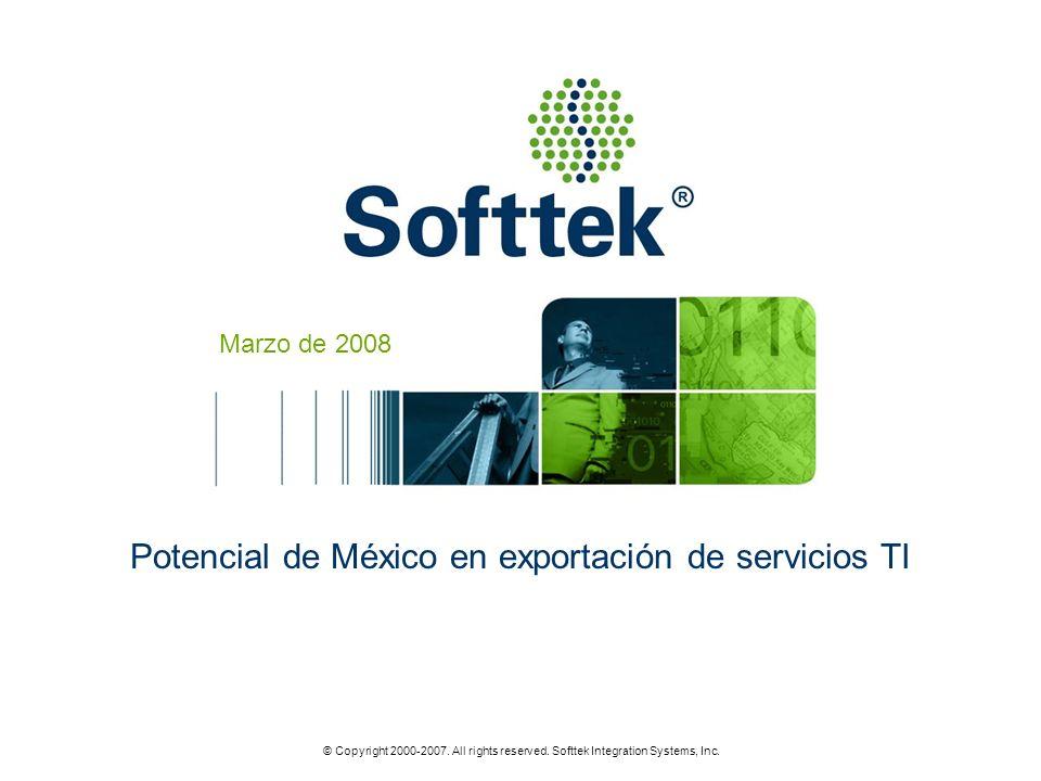 Potencial de México en exportación de servicios TI
