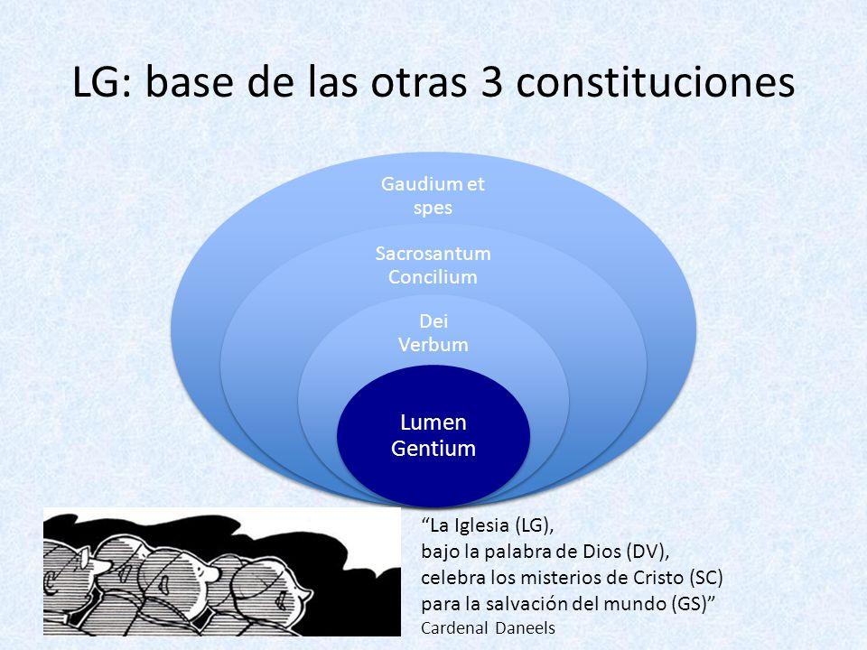LG: base de las otras 3 constituciones