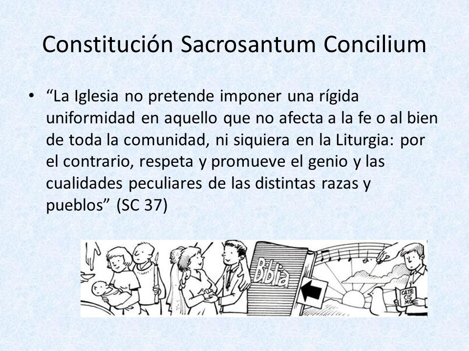 Constitución Sacrosantum Concilium