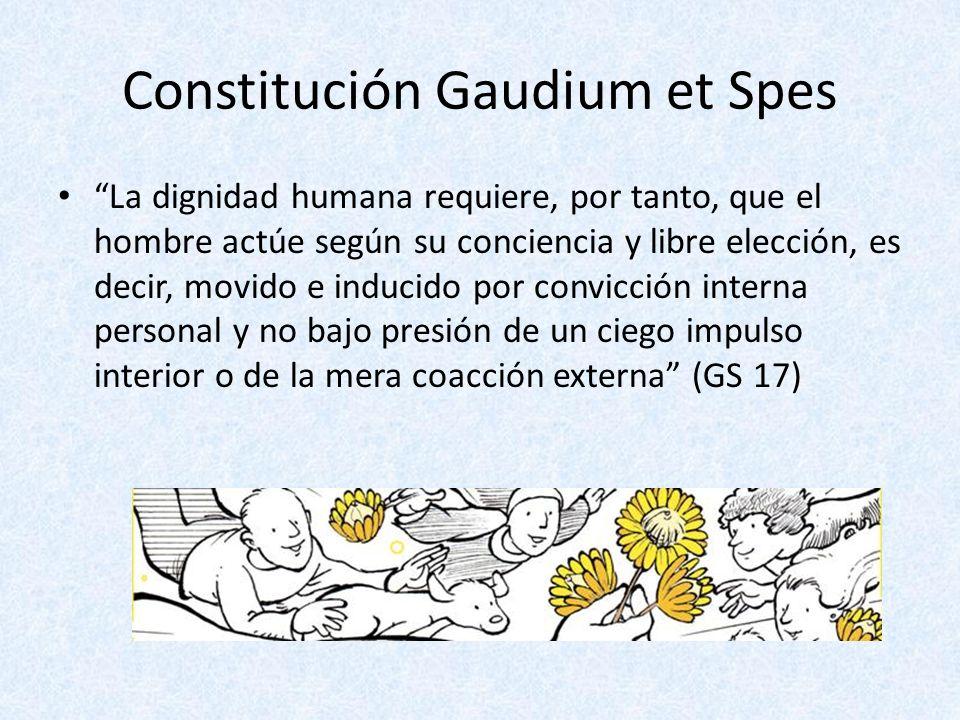 Constitución Gaudium et Spes