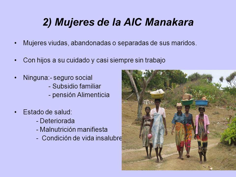 2) Mujeres de la AIC Manakara