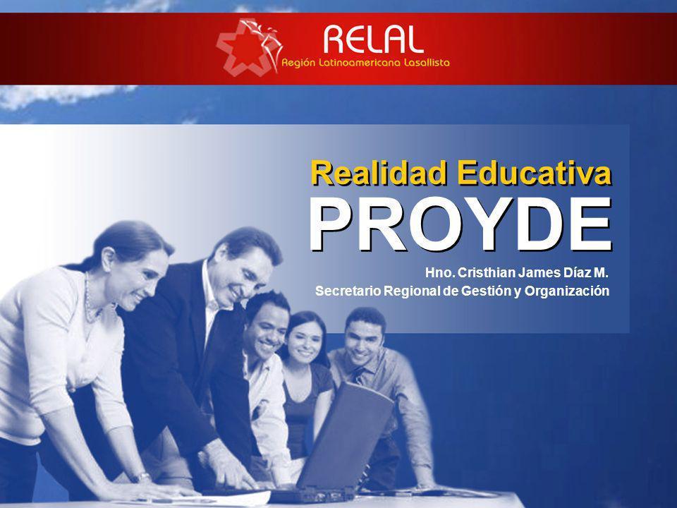 PROYDE Realidad Educativa Hno. Cristhian James Díaz M.