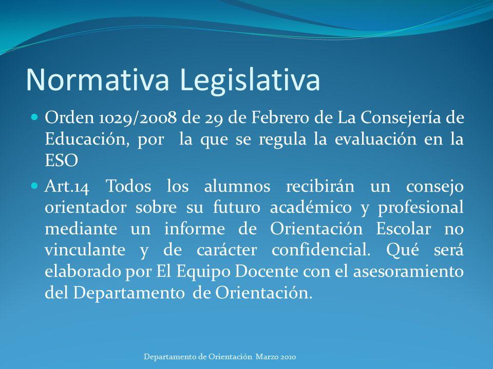Normativa Legislativa