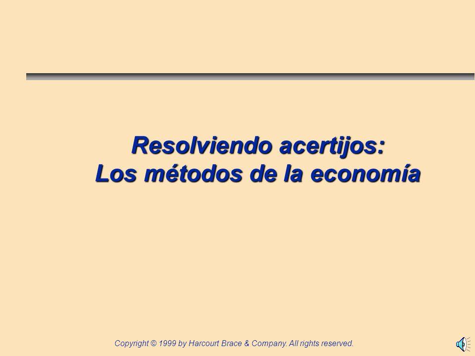 Resolviendo acertijos: Los métodos de la economía
