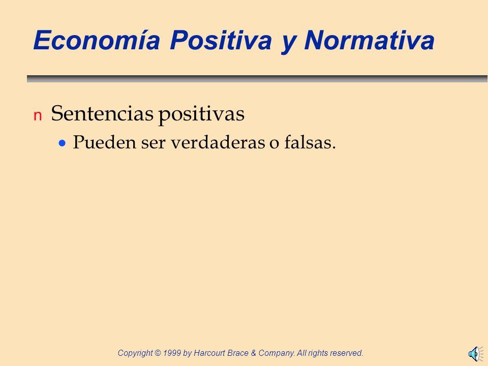 Economía Positiva y Normativa