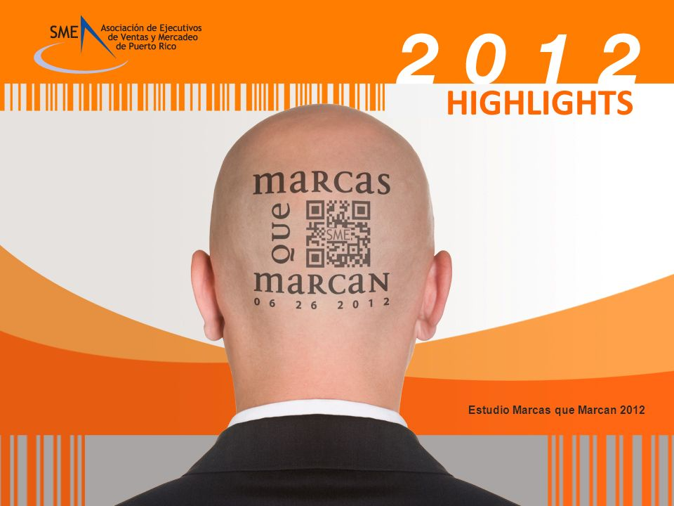 HIGHLIGHTS Estudio Marcas que Marcan 2012