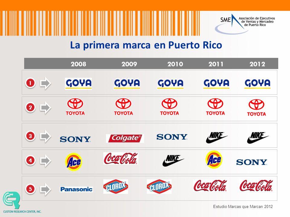 La primera marca en Puerto Rico