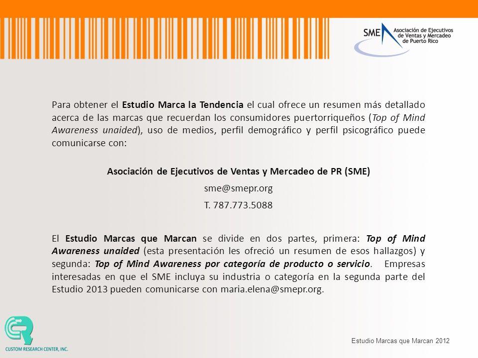 Asociación de Ejecutivos de Ventas y Mercadeo de PR (SME)