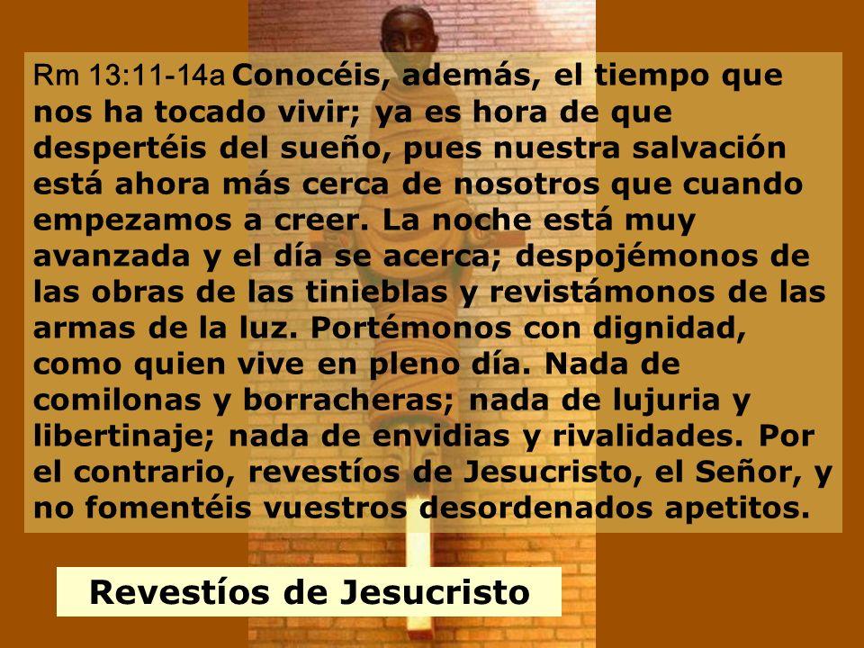 Revestíos de Jesucristo