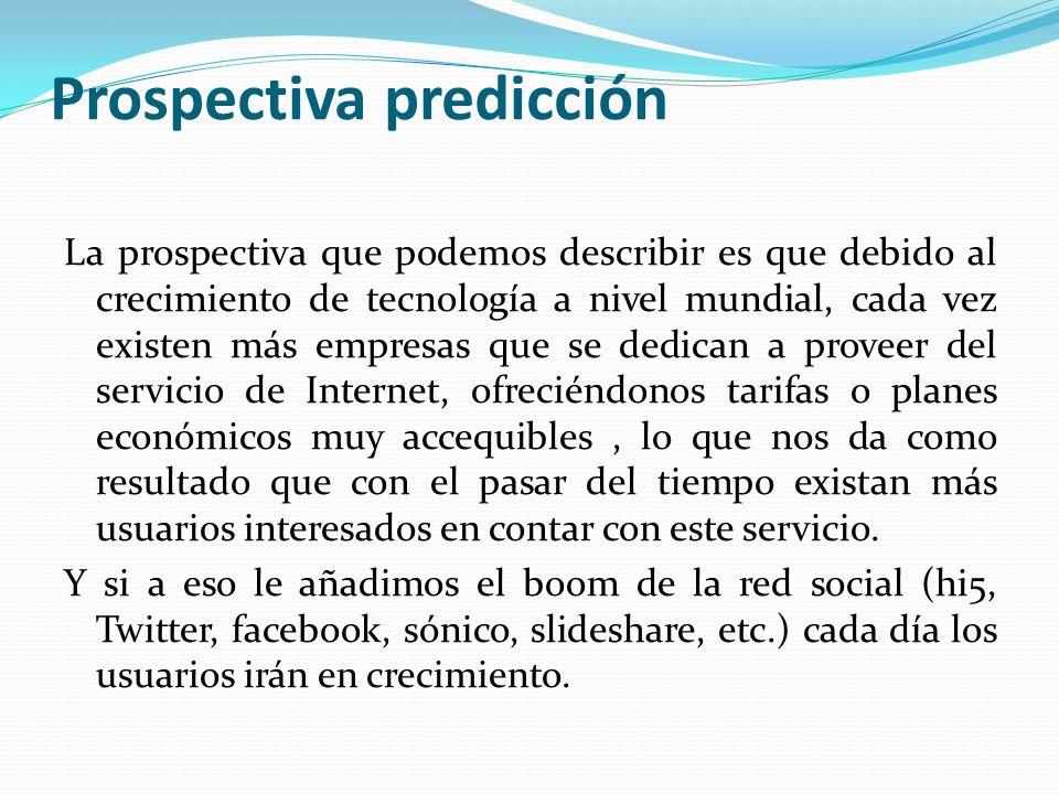 Prospectiva predicción