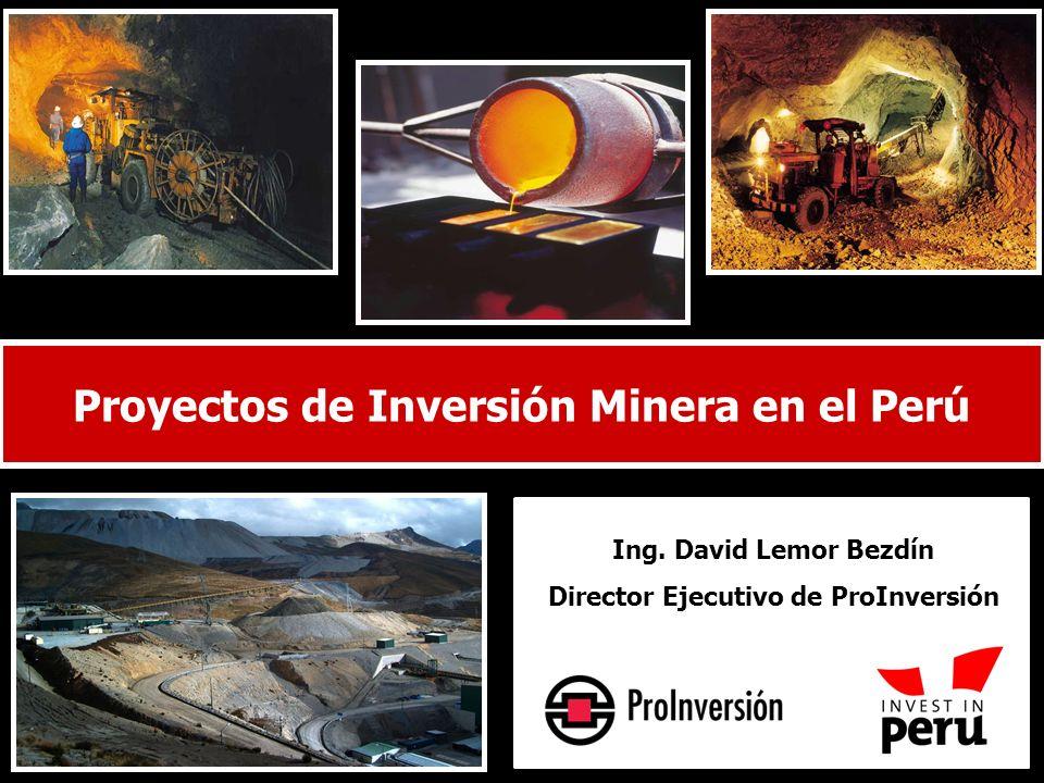 Proyectos de Inversión Minera en el Perú
