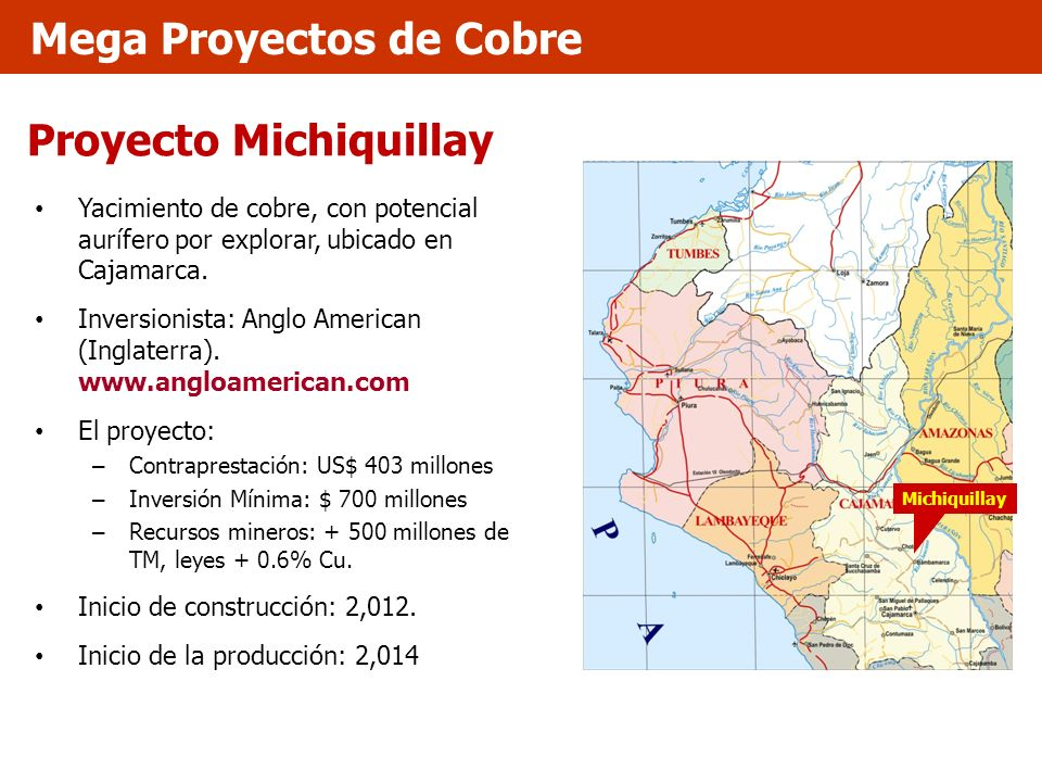 Proyecto Michiquillay