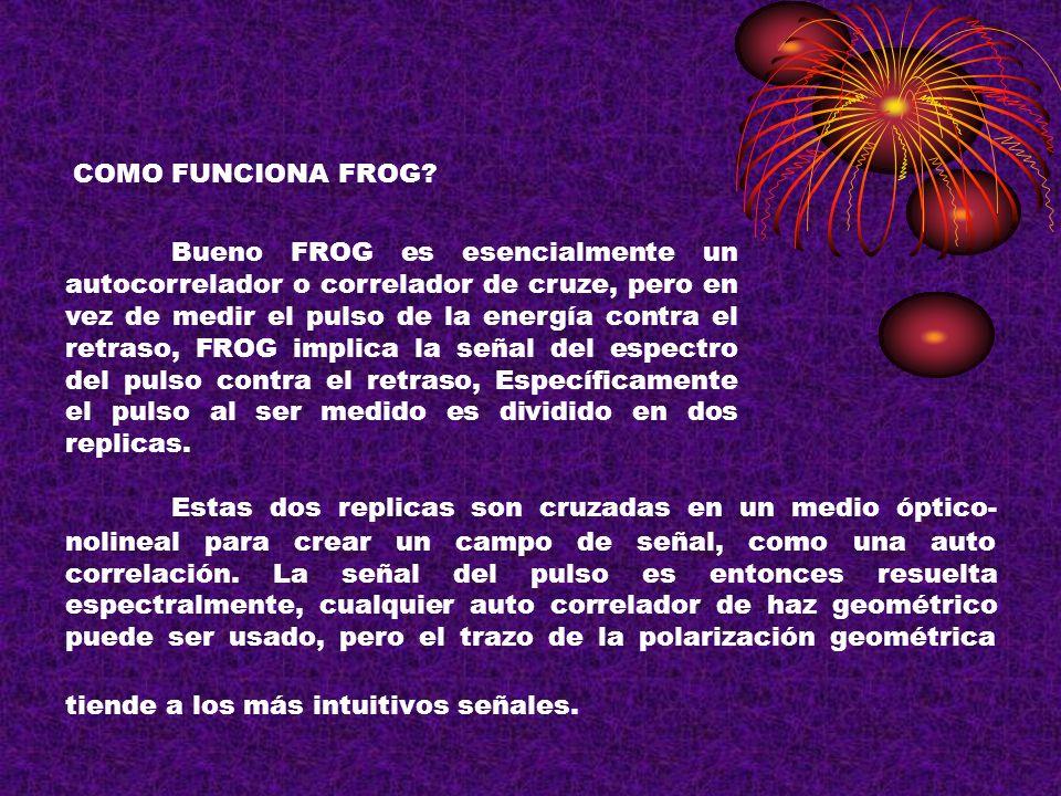 COMO FUNCIONA FROG
