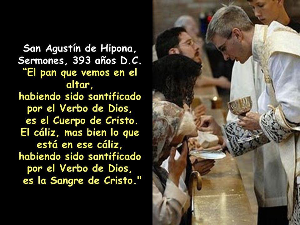San Agustín de Hipona, Sermones, 393 años D.C.
