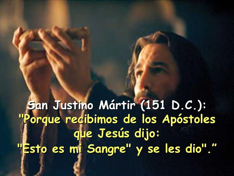 San Justino Mártir (151 D.C.):