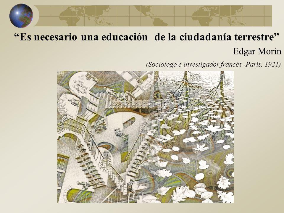 Es necesario una educación de la ciudadanía terrestre