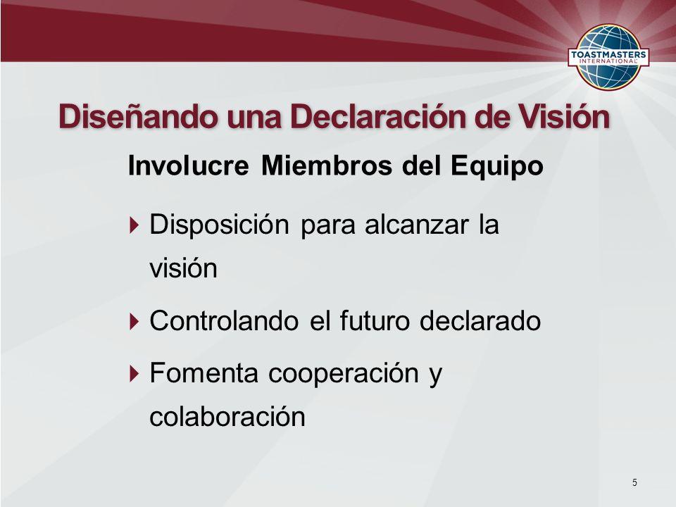 Diseñando una Declaración de Visión
