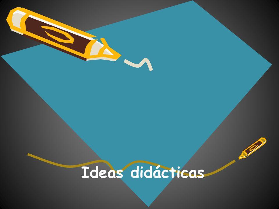 Ideas didácticas