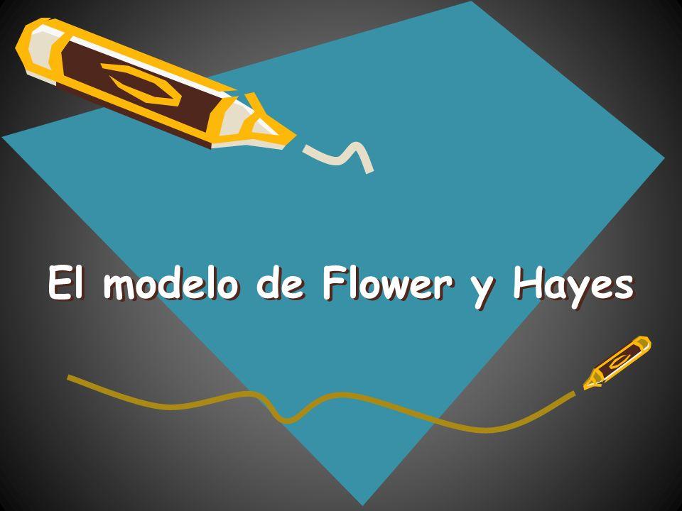 El modelo de Flower y Hayes