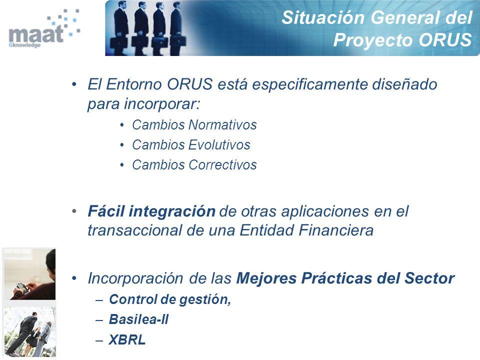 Situación General del Proyecto ORUS