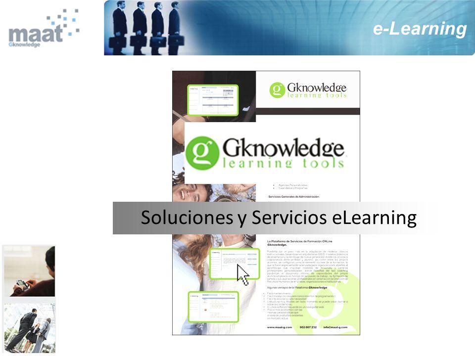 Soluciones y Servicios eLearning
