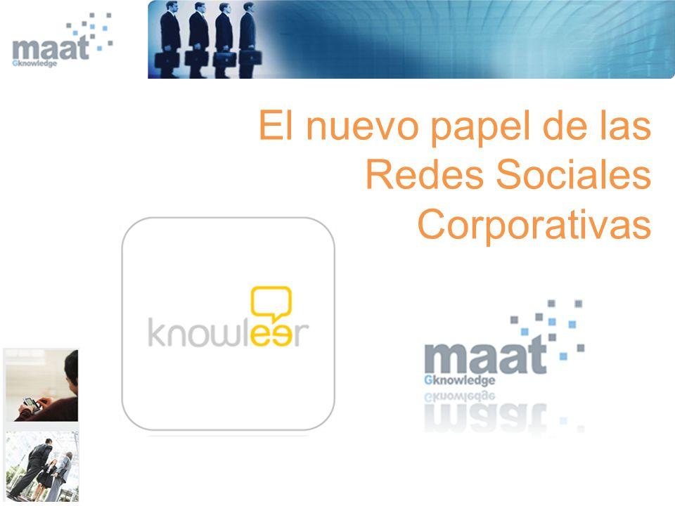 El nuevo papel de las Redes Sociales Corporativas