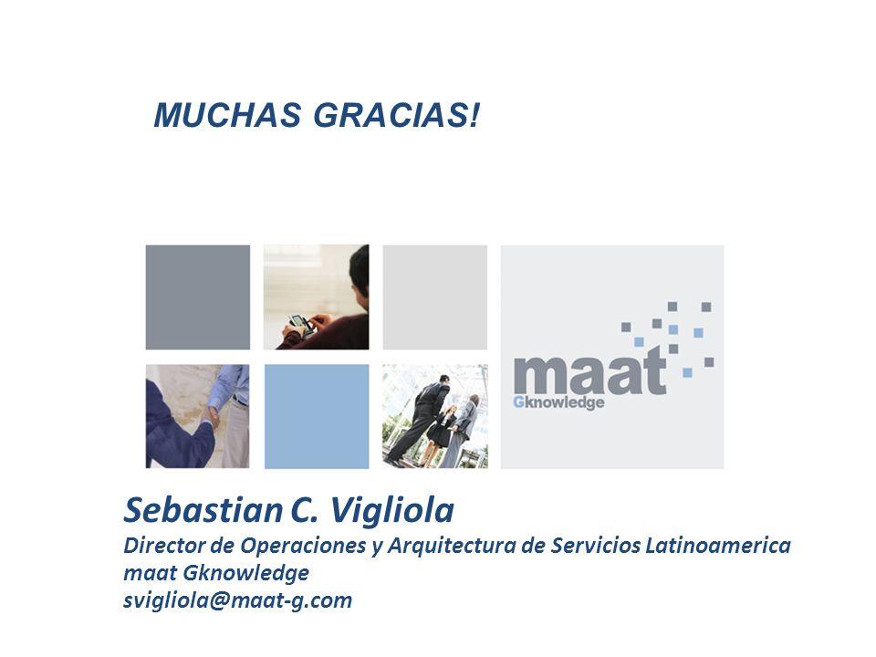 Sebastian C. Vigliola Muchas Gracias!
