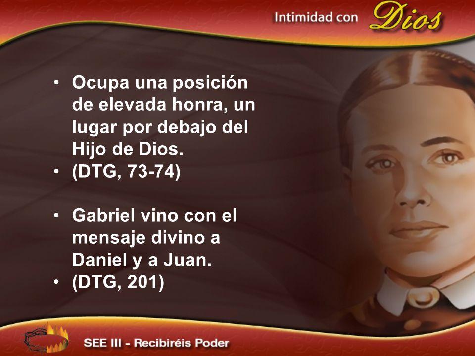 Gabriel vino con el mensaje divino a Daniel y a Juan.