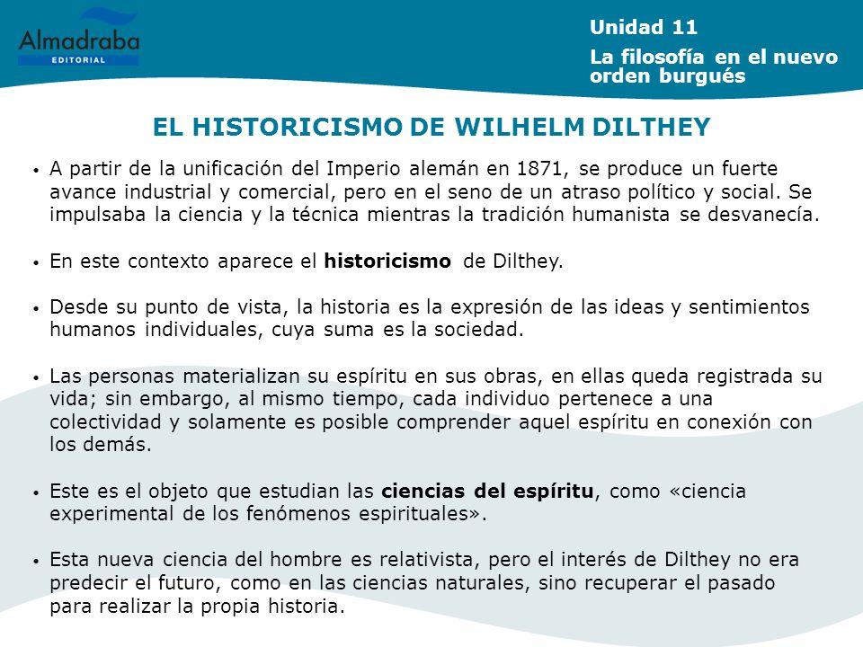 EL HISTORICISMO DE WILHELM DILTHEY