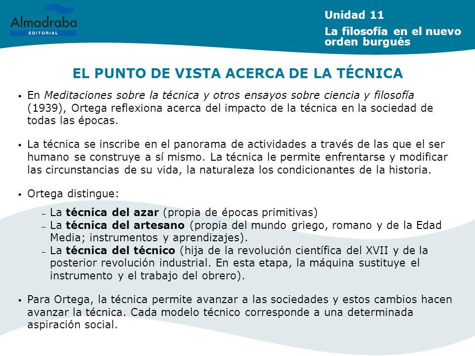 EL PUNTO DE VISTA ACERCA DE LA TÉCNICA