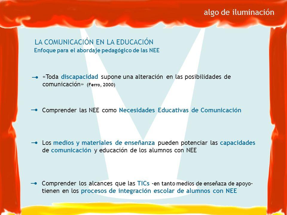 algo de iluminación LA COMUNICACIÓN EN LA EDUCACIÓN