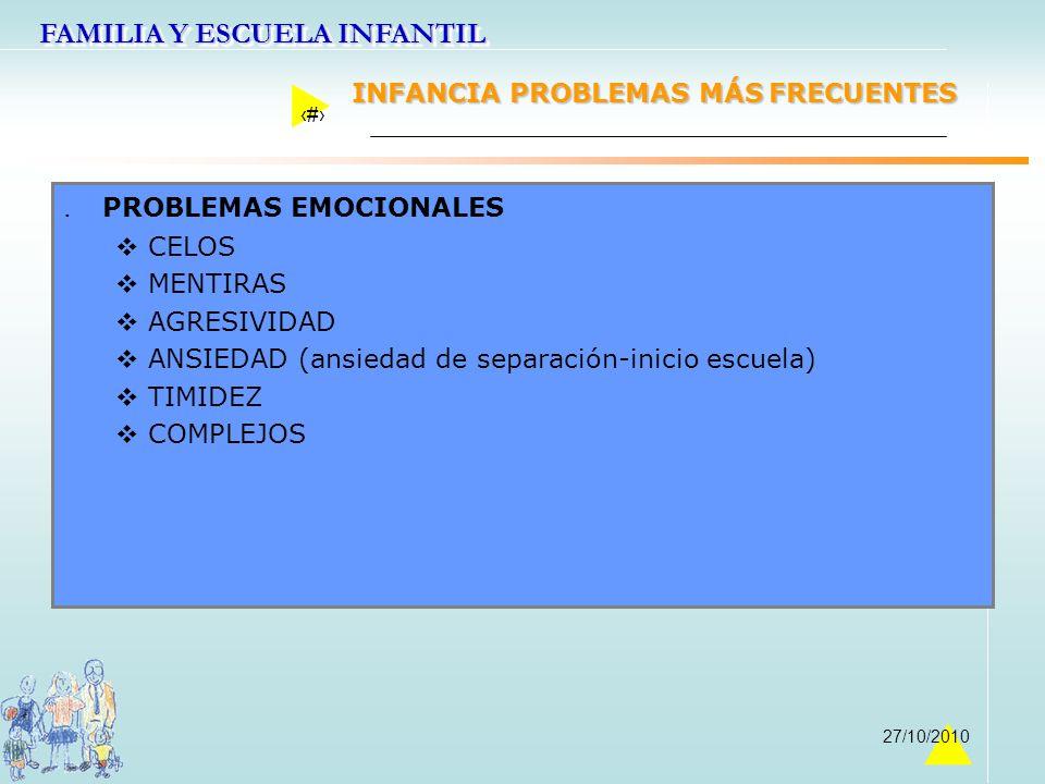 . PROBLEMAS EMOCIONALES