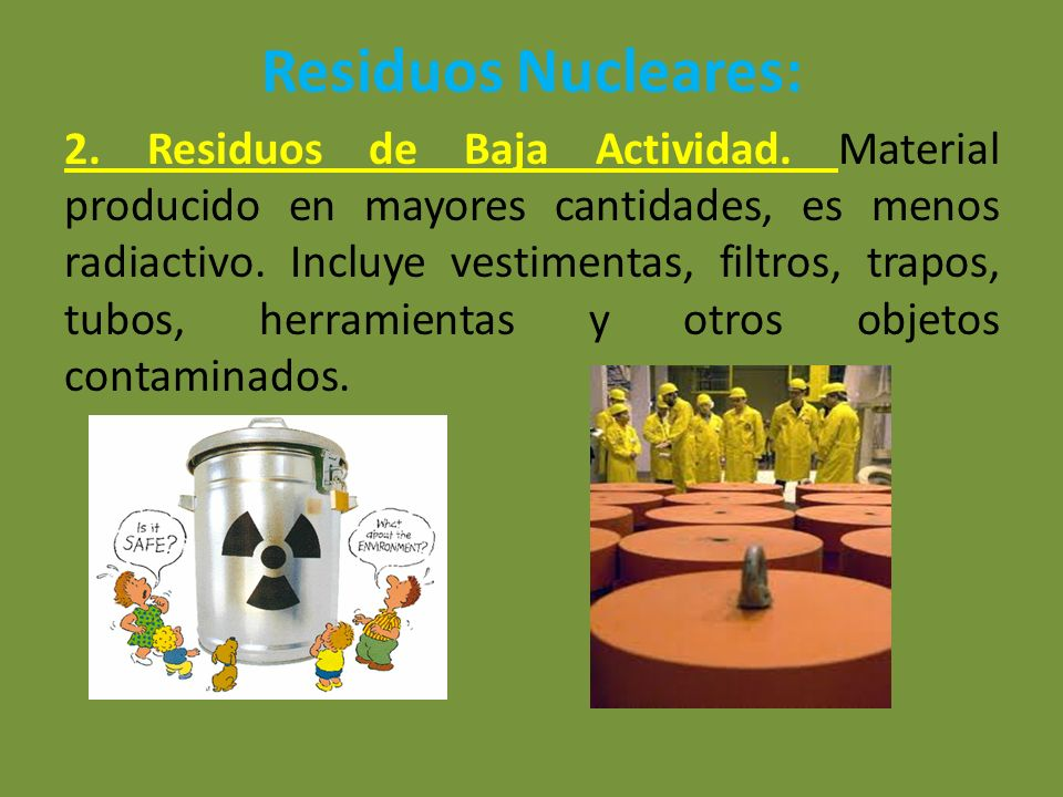 Residuos Nucleares: