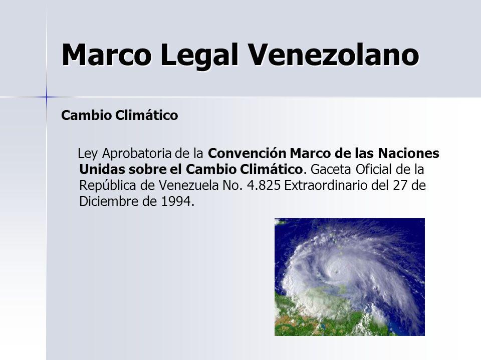 Marco Legal Venezolano
