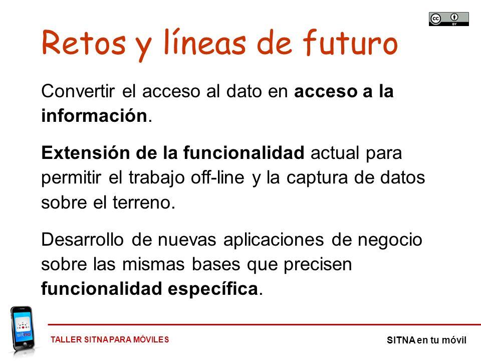 Retos y líneas de futuro
