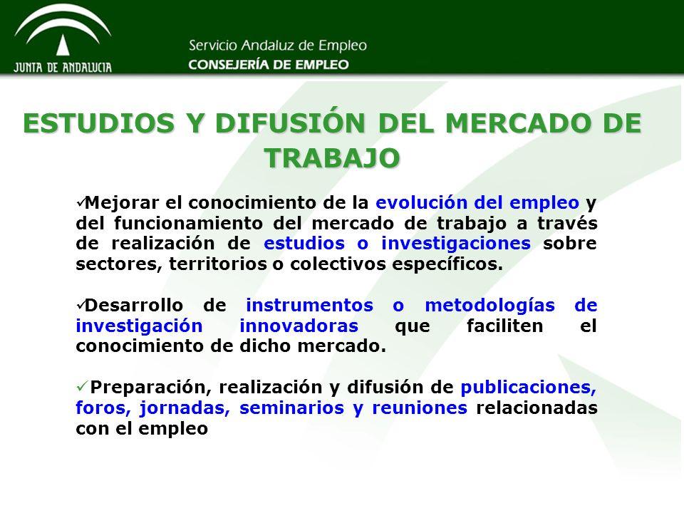 ESTUDIOS Y DIFUSIÓN DEL MERCADO DE TRABAJO