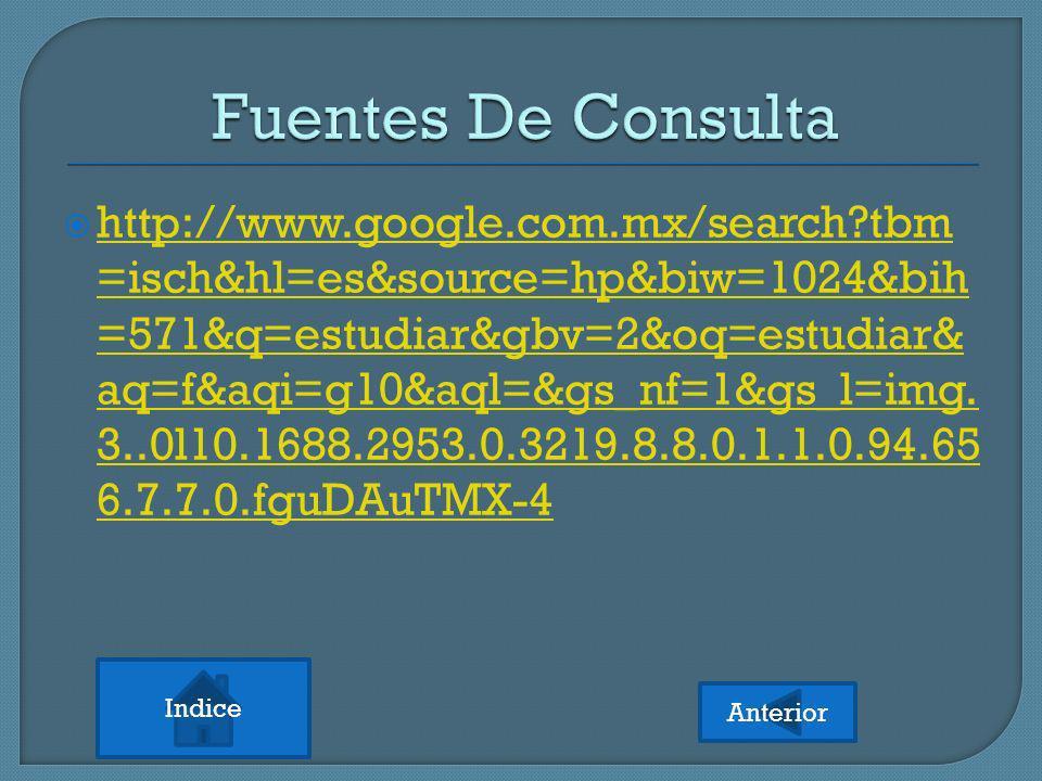 Fuentes De Consulta