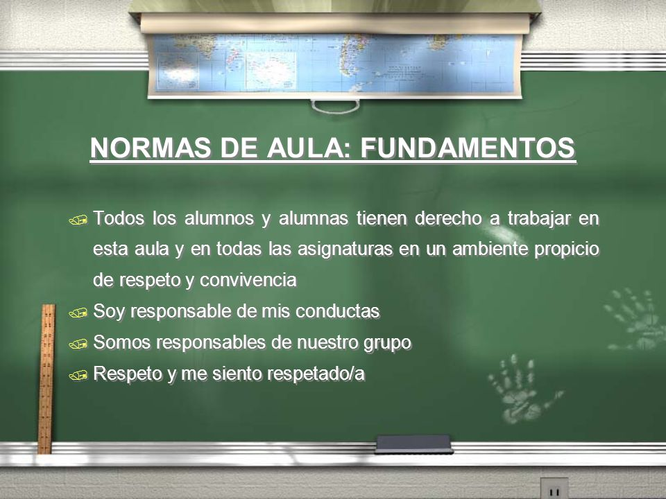 NORMAS DE AULA: FUNDAMENTOS