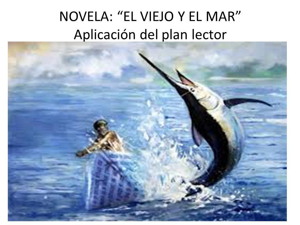 NOVELA: EL VIEJO Y EL MAR Aplicación del plan lector
