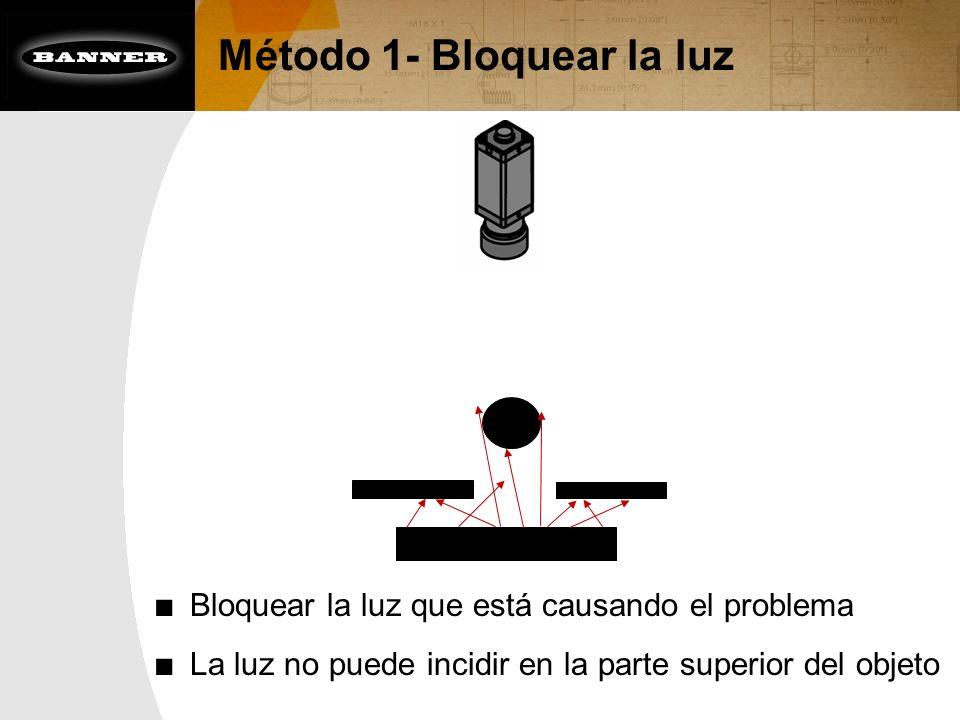 Método 1- Bloquear la luz