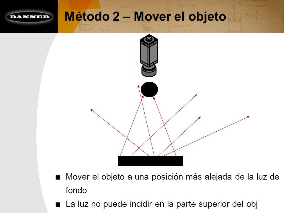 Método 2 – Mover el objeto