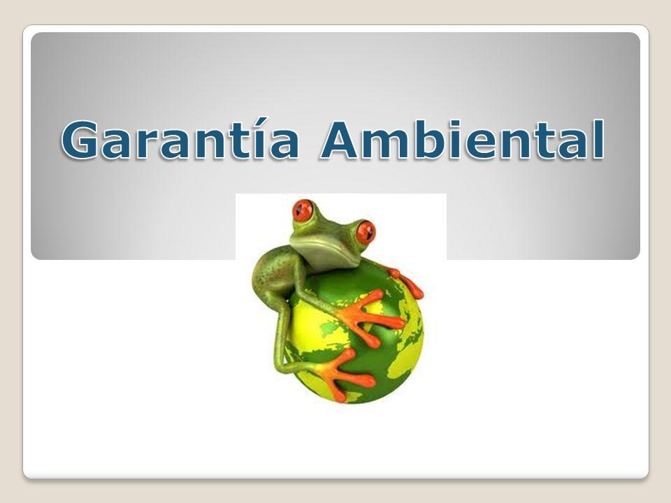 Garantía Ambiental