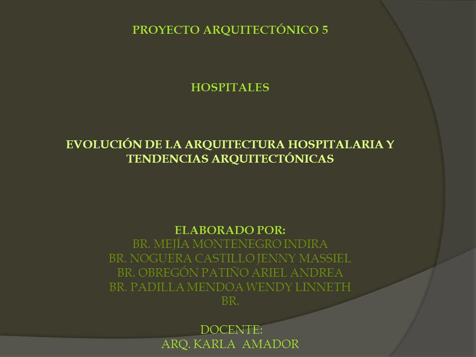 PROYECTO ARQUITECTÓNICO 5