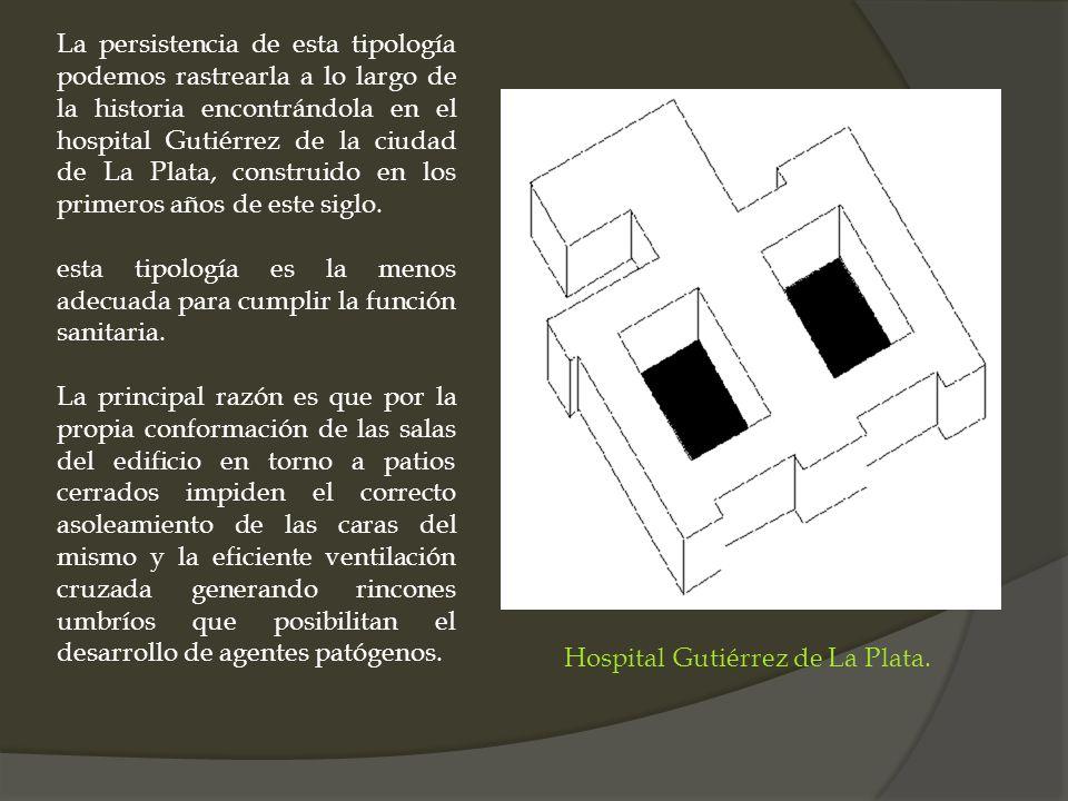 Hospital Gutiérrez de La Plata.