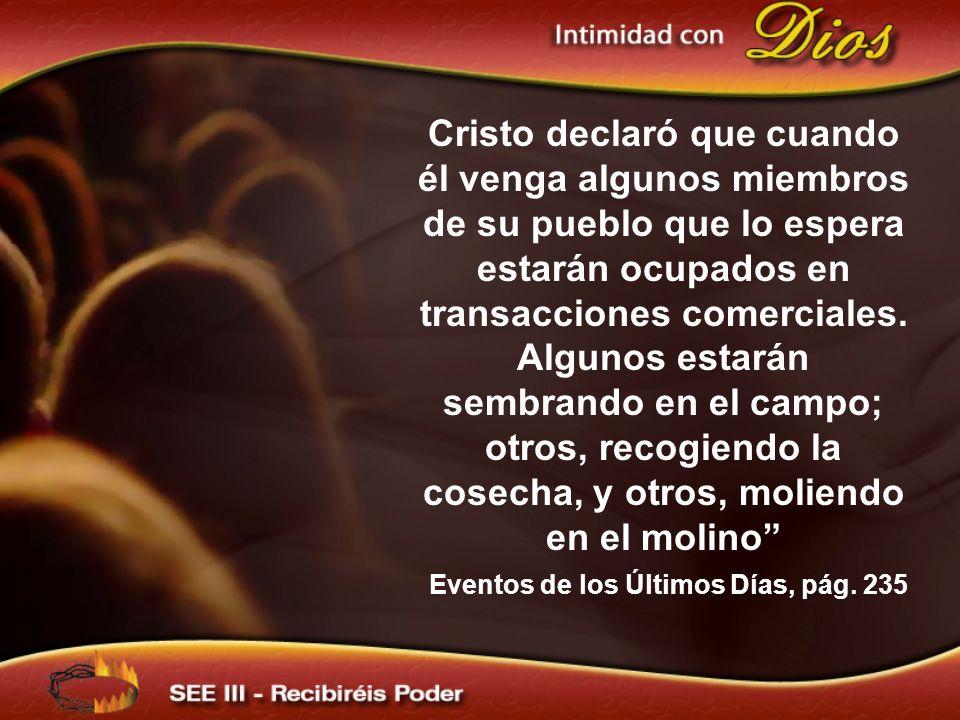 Eventos de los Últimos Días, pág. 235