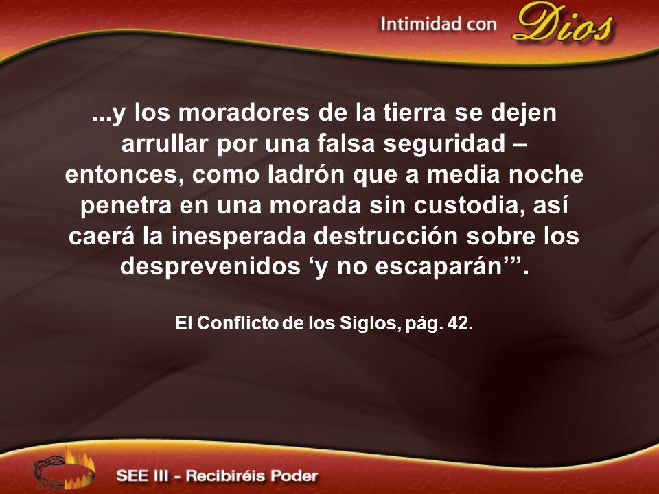 El Conflicto de los Siglos, pág. 42.