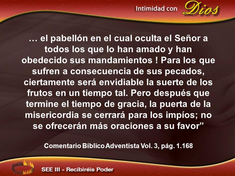Comentario Bíblico Adventista Vol. 3, pág. 1.168