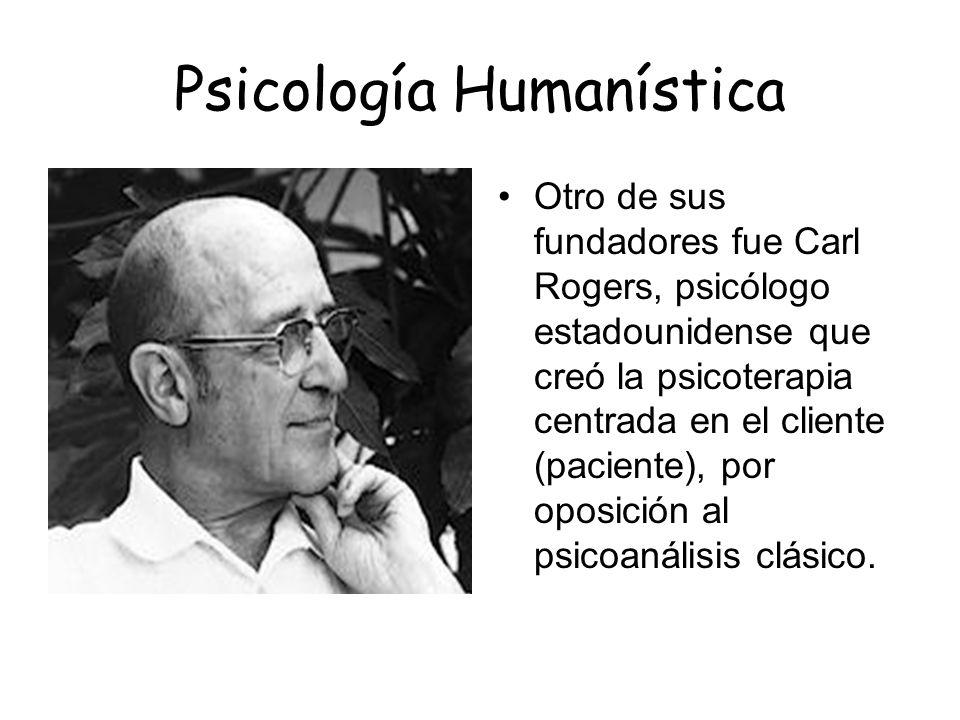 Psicología Humanística