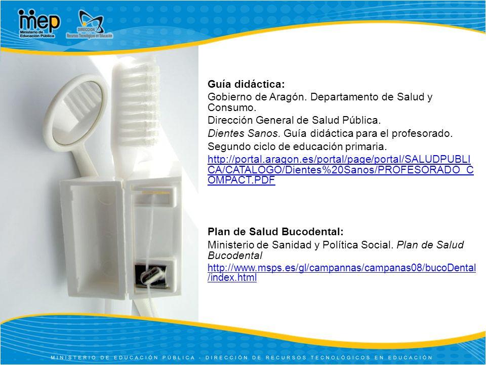 Gobierno de Aragón. Departamento de Salud y Consumo.